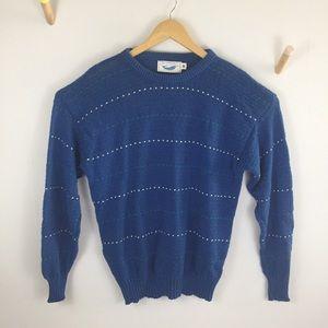 Vintage knit sweater - Maine